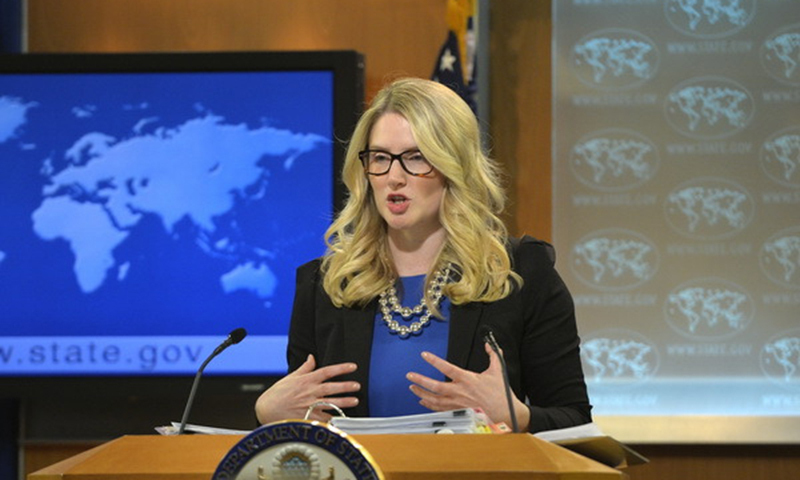 U.S. State Department deputy spokesperson Marie Harf (Photo: Courtesy of the U.S. State Department)
