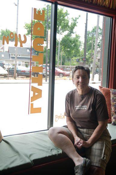 Kathy Brown, proprietor of Latitude 41n (Photo: Bob Perksoki)
