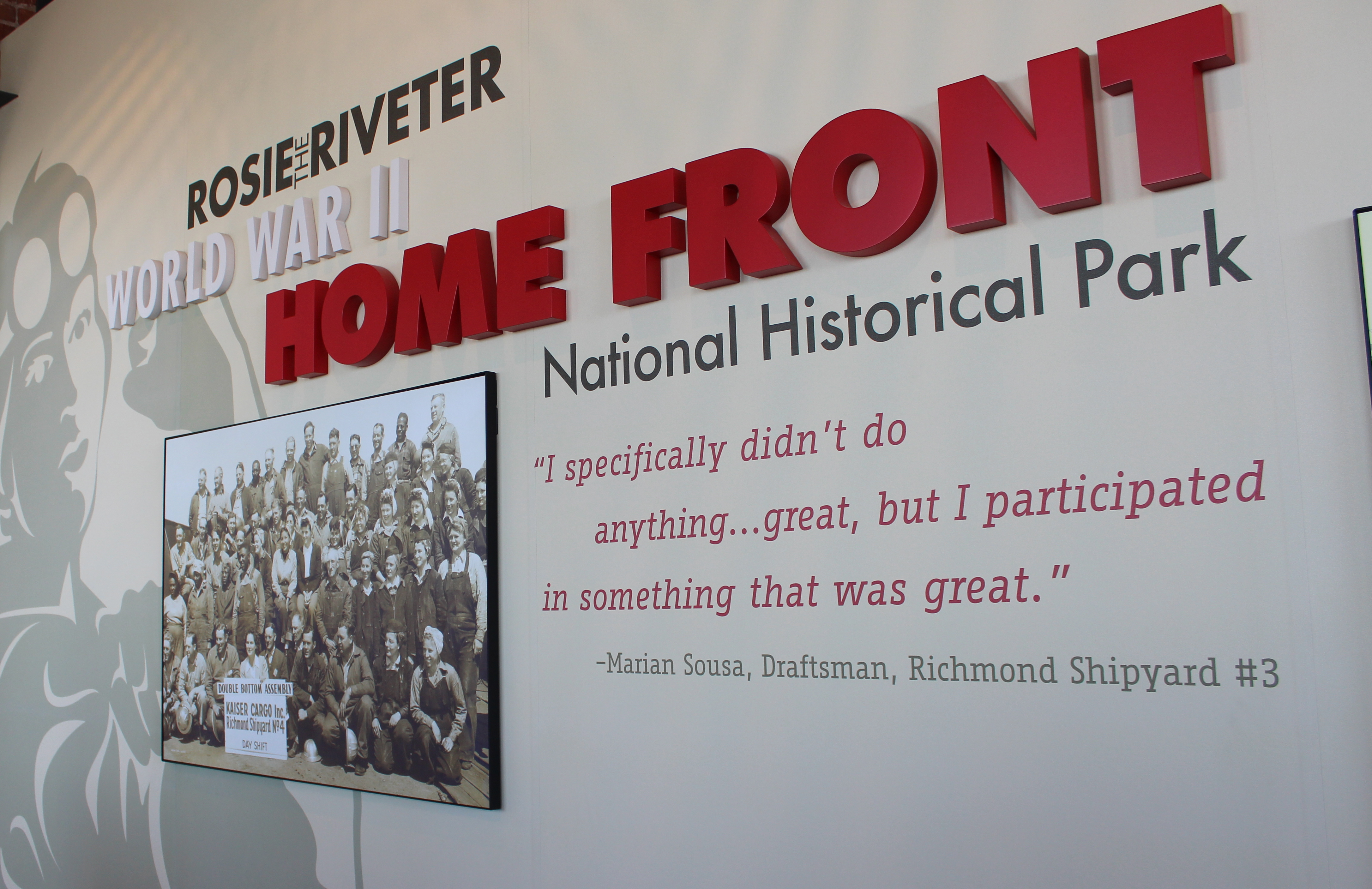 The Rosie the Riveter WWII Home Front National Historical Park in Richmond, Calif. (Photo: Nicole Clausing)