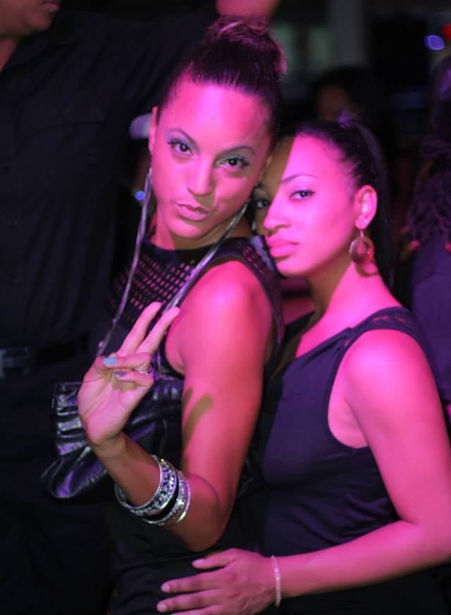 Girls strike a pose at one of Queendom's parties in 2013. (Photo: Courtesy of 2Fly and Xplosion Ent.)