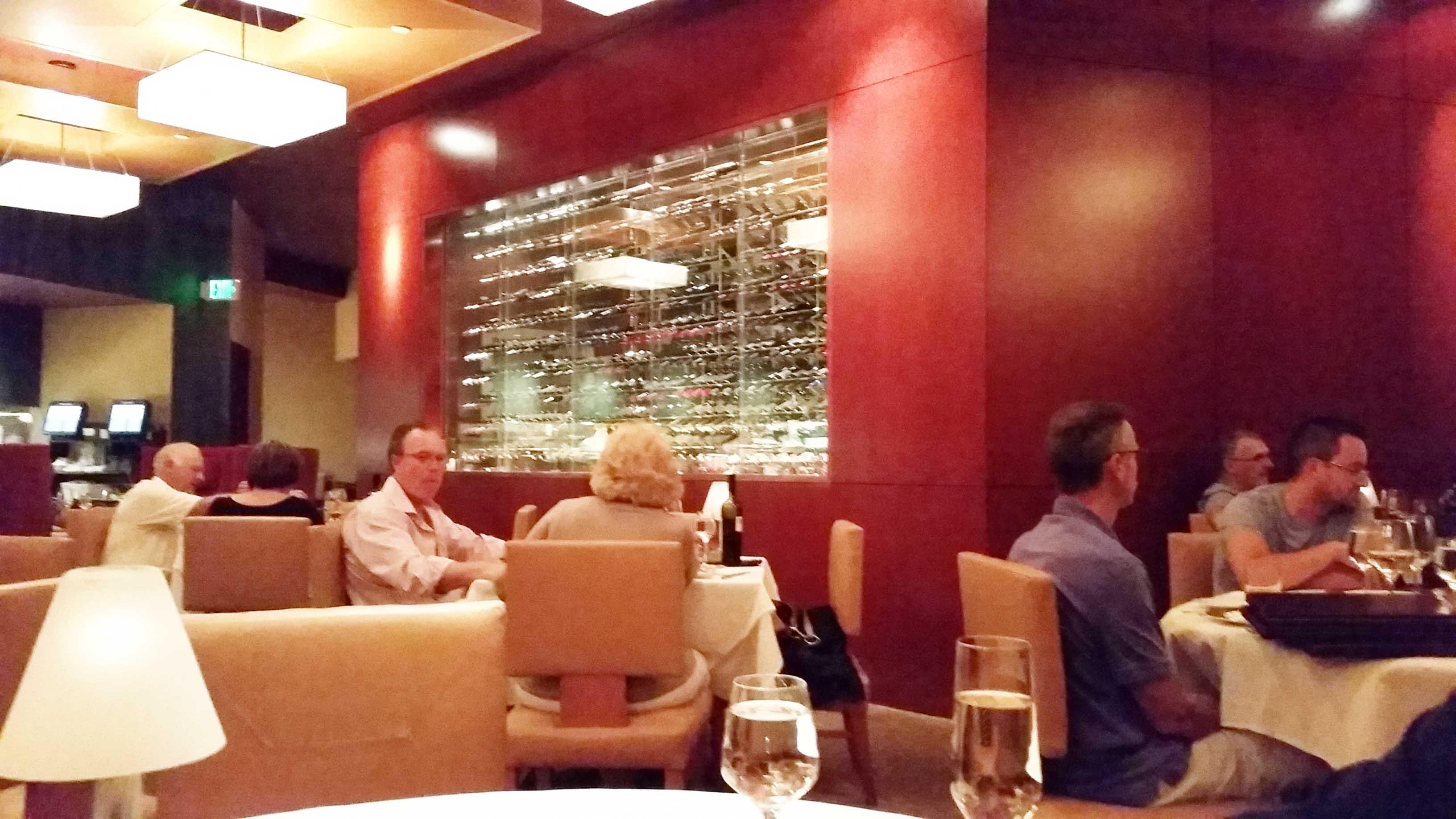 A view of Ciera's impressive wine selection. (Photo: Super G)