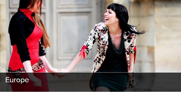 Lesbian European travelers (Photo: Courtesy of World Rainbow Hotels)