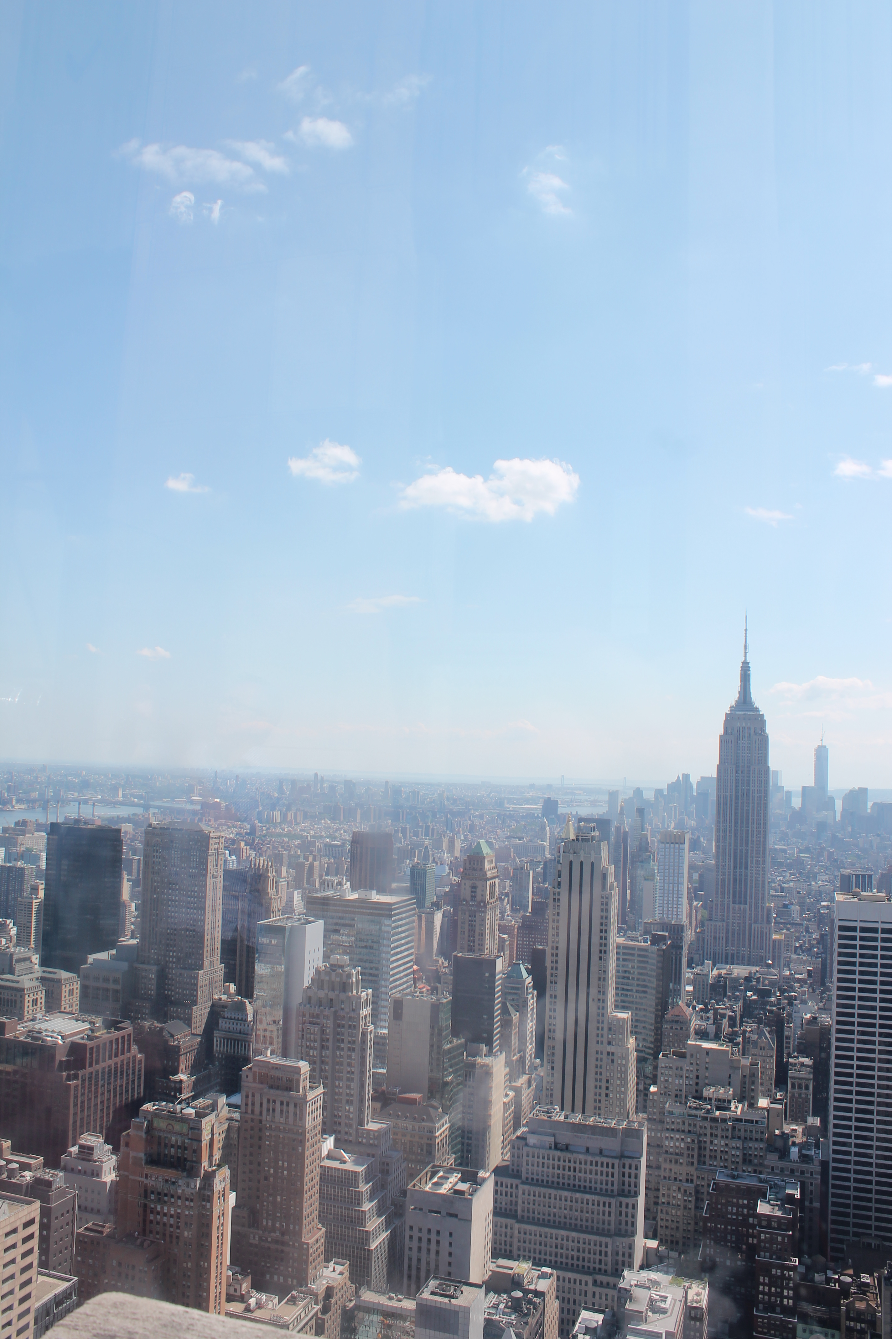 A view of New York from the Top of the Rockefeller Center. (Photo: Super G)