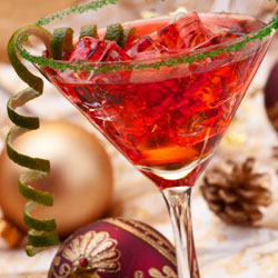 Festive holiday cocktails (Photo: Courtesy of skinnysocials.com)