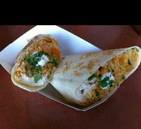 Tako Cheeno's Indian Butter Chicken Burrito (Photo: Courtesy of Tako Cheeno)