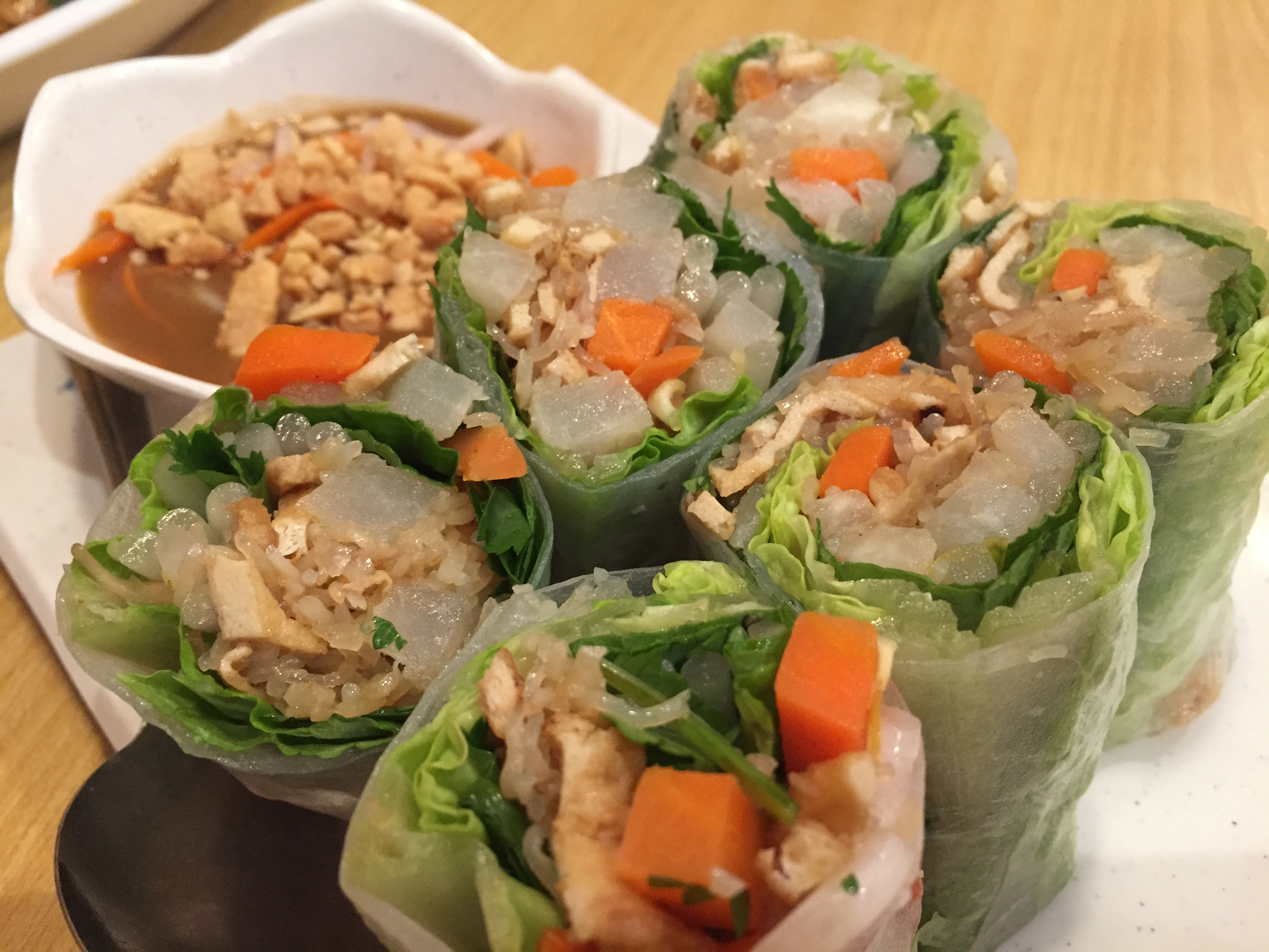 Spring Rolls Non-Fried (Photo: Heather Cassell)