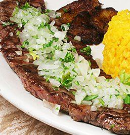 The Siboney Steak at El Siboney in Key West, Florida (Courtesy of El Siboney)