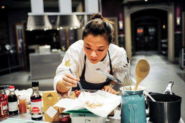 Top Chef Chef Shirley Chung (Photo: David Moir)