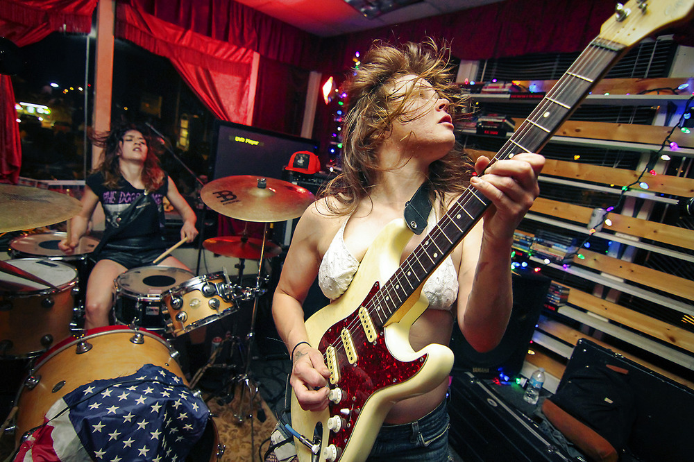 Southern punk band Thelma and the Sleaze (Photo: Josh Miller)