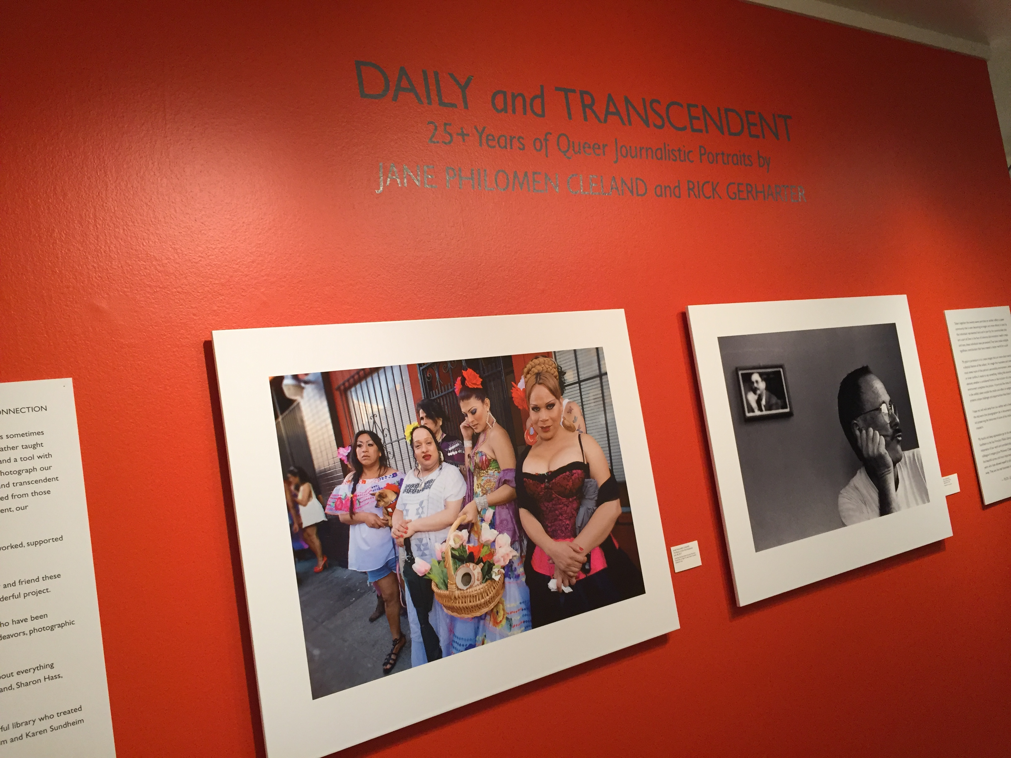 Daily and Transcendent: 25+ years of Photojournalistic Portraits Exhibit, November 1 – January 3, San Francisco Public Library, Main Branch, Jewett Gallery, 100 Larkin Street, San Francisco, Calif. (Photo: Girls That Roam)