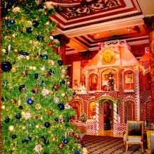 A Holiday Treat: Gingerbread House Returns To The Fairmont San Francisco