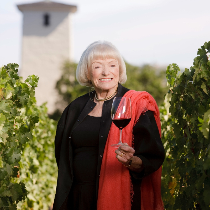 The 2016 Festival del Sole season will be dedicated to advocate of the arts, philanthropy and the Napa Valley, Margrit Mondavi. (PRNewsFoto/Napa Valley Festival Association)