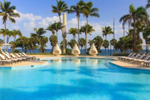 The pool at the Renaissance Santo Domingo Jaragua Hotel & Casino in Santo Domingo, Dominican Republic (Photo: Courtesy of Renaissance Santo Domingo Jaragua Hotel & Casino)