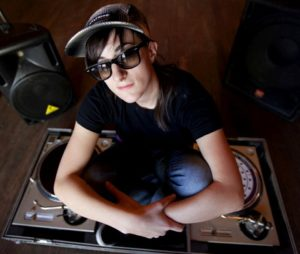 DJ LeahV (Photo: Kelly Davidson)