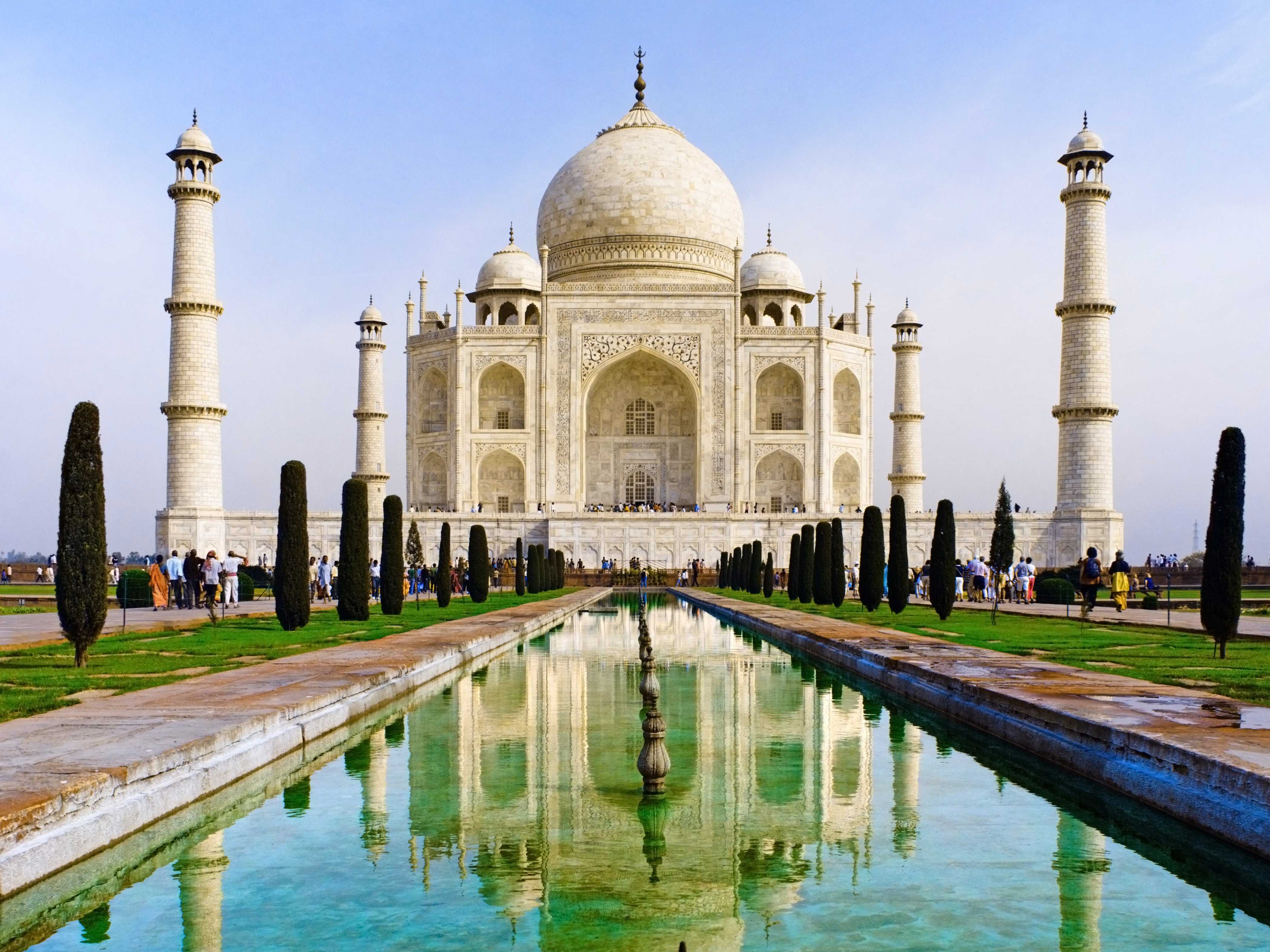 The Taj Mahal in Agra, India. (Photo: BusinessInsider.com)