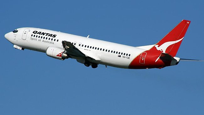 Australia's Qantas Airlines is number one for the third year in a row for AirlineRatings.com's annual airline safety survey. (Photo: Courtesy of AdelaideNow)