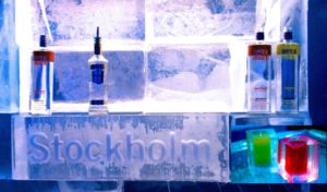 Would you like that chilled? Visit the original Icebar Stockholm in the lobby of the hotel Nordic Sea in 2002. (Photo: Stephanie Brusig)