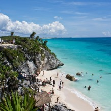 Head To The Beach In Tulum, Mexico, Number Nine On Our List Of Places To Visit In 2016