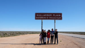 The beginning of our girl's trip across the Nullarbor in Adelaide, Australia. (Photo: Julia Champtaloup / The Daily Telegraph)