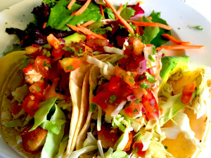 The Fish Taco served up by Jake's in Palm Springs, California. (Photo: Super G)