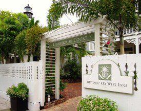The entrance to the Lighthouse Court Inn in Key West, Florida (Photo: http://www.historickeywestinns.com)