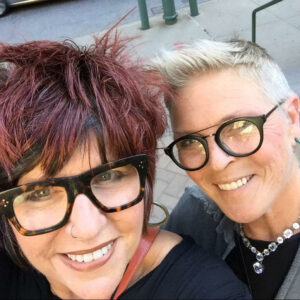 """Allison """"Alli"""" Baldwin, left, and Ilene Mitnick, right, owners of Roux in Provincetown, Massachusetts. (Photo: Courtesy of Roux Bed and Breakfast)"""