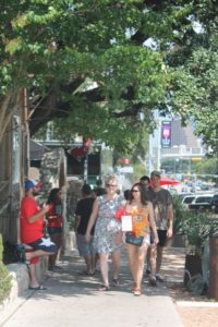 Shopping on funky South Congress Avenue in Austin, Texas. (Photo: Super G)