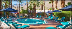 Casitas Laquita offers a Latin American inspired luxury stay at this woman-owned boutique hotel in Palm Springs, California. (Photo: Courtesy of Casitas Laquita)