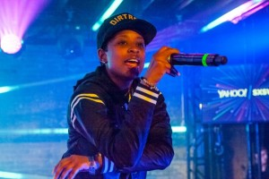 Dej Loaf performing on the Yahoo! stage at Brazos Hall at South by Southwest 2015. (Photo: David Tait / South by Southwest)