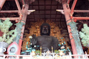 Buddhist temple Todai-ji in Nara, Japan was once one of the powerful Seven Great Temples. (Photo: Courtesy of GreenandTurquoise.com)