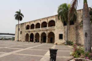 Alcazar De Colon located in the Colonial Zone, a World Heritage Site, in Santo Domingo it is the oldest Viceregal residence in America. (Photo: Nicole Clausing)