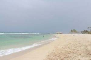 Juan Dolio Beach about a 40-minute van ride directly east from downtown Santo Domingo is a barely touched beach perfect for escaping the crowds in the Dominican Republic. (Photo: Nicole Clausing)