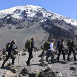 French Women Soldiers Scale Mt. Kilimanjaro For Victims Of War