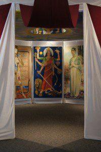 The Sister Chapel, installed at Rowan University Art Gallery West, Glassboro, NJ Photo: Andrew D. Hottle (Photo: Andrew D. Hottle)