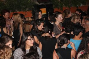 One of the many women's pride parties throughout Tel Aviv's Pride Week in 2015. (Photo: Super G)