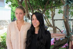 Courtney Wilson, left, and Taylor Guerrero pose for a photo in Honolulu on Wednesday, Oct. 28, 2015. (Photo: Jennifer Sinco Kelleher / AP)