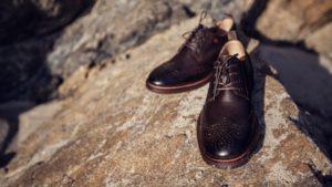 Nik Kacy's classic wingtip shoe at Nik Kacy Footwear (Photo: Courtesy of Nik Kacy Footwear / J!MMY Zhang)