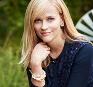 Reese Witherspoon poses in Draper James clothing campaign. (Photo: Paul Costello)
