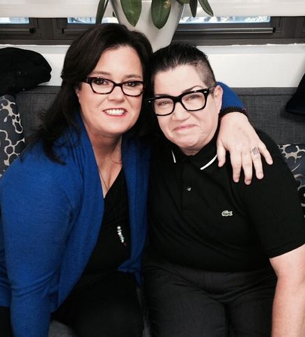 Celesbian Comedians Rosie O'Donnell, left, and Lea DeLaria, right (Photo: rosie.com)