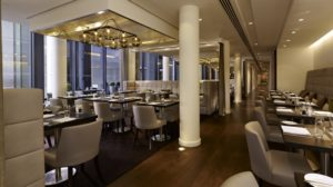 The Millbank Lounge at the DoubleTree – Westminster (Photo: Courtesy of DoubleTree-Westminster / Hilton Worldwide)