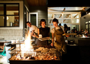 Women grilling it at Feast Portland 2015. (Photo: Courtesy of BonAppetit.com)