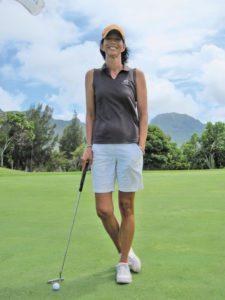 Kellie Hines, head golf professional at Hokuala Ocean Course at Timbers Resorts (Photo: Courtesy of MidWeekKauai.com)