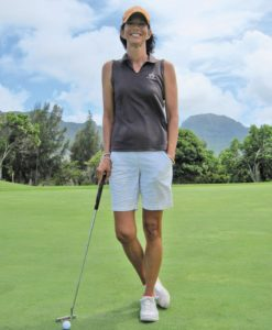 Kellie Hines, head golf professional at Hokuala Ocean Course at Timbers Resorts (Photo: Courtesy of MidWeekKauai.com)
