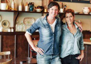 Maylin Chavez and Melissa Mayer of Olympia Oyster Bar in Portland, Oregon (Photo: Courtesy of portlandmetrolive.com)