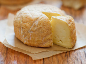 Cut into this Redhawk cheese made in California. (Photo: Courtesy of California Cheese Trail)