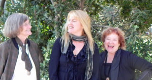3Girls Theatre Company co-founders (left to right) Lee Brady, Suze Allen, and AJ Baker (Photo: Courtesy of 3Girls Theatre Company)