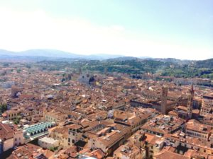 The view of Florence from Duomo. (Photo: Nicole Clausing
