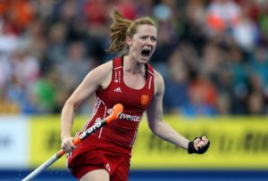 Helen Richardson-Walsh, a tempo-dictating midfielder, for Great Britain. (Photo: Manchester Evening News)