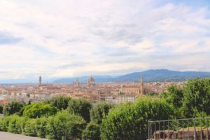 The view of Florence from Piazzale Michelangelo. (Photo: Nicole Clausing)