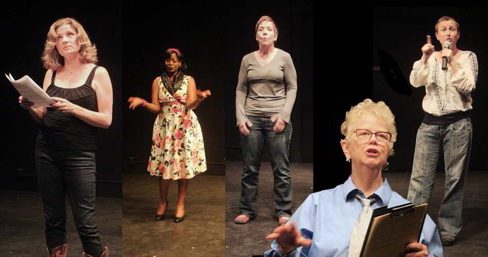 LezWrites! 2015 at 3Girls Theatre Company's New Works Festival (Photo: Courtesy of 3Girls Theatre Company)